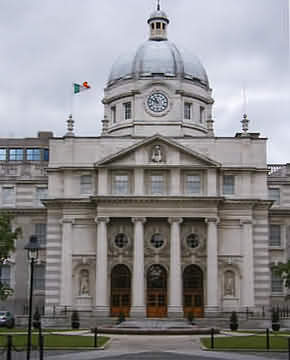Leinster House, Ireland government buildings, Irish photographs